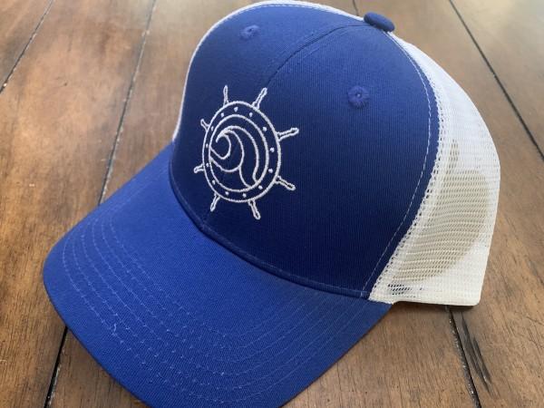 Royal Blue Surf Captain Hat