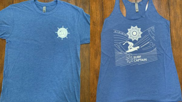 Tee shirt and Women's Tank Top front